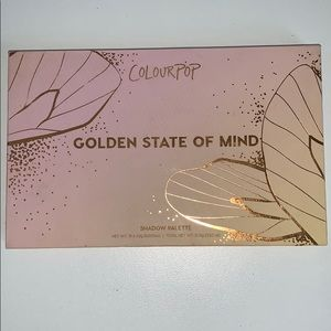 Colourpop golden state of mind eyeshadow !